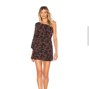 Lovers + Friends Dress- floral print size XS